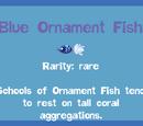 Blue Ornament Fish