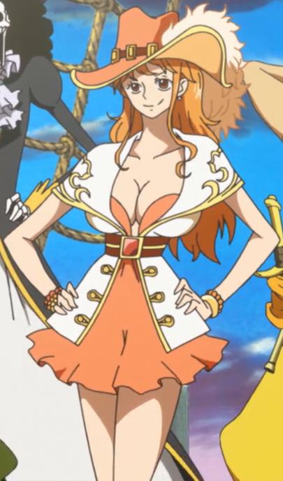 Naruto x One Piece: Character Nami_Wake_up%21