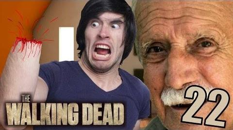 ABUELOS TRAIDORES Y MUCHA SANGRE - The Walking Dead - Parte 22