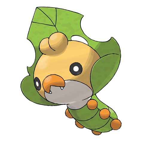 sewaddle pokemon coloring pages - photo#26