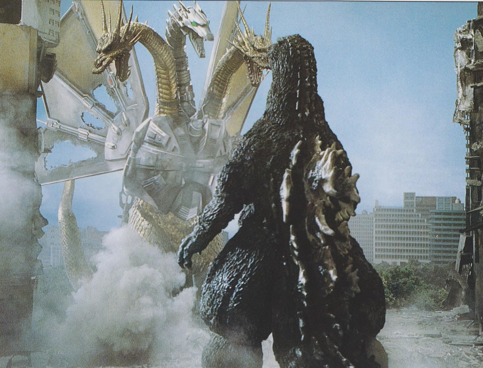 Godzilla Vs Mecha King Ghidorah Image - GVKG - Godzill...