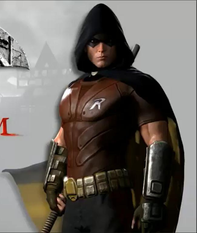 Robin  1 Robin Arkham City Hood