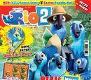 "Hakunaro/Rio 2 Magazine - Includes ""Snakes Alive"" comic"