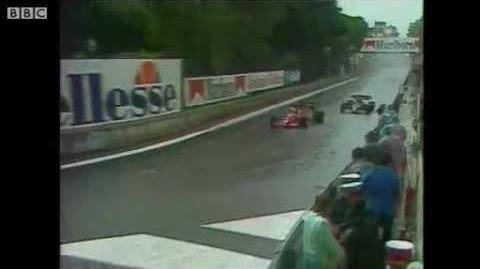 BBC Classic F1 - Monaco Grand Prix 1984 HQ