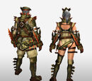 Frontier Generation Armor Set Renders (Back View)