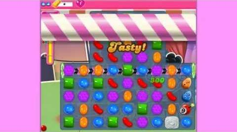 Candy Crush Saga level 549 3*** no boosters
