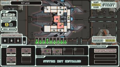 FTL: Lanius Cruiser