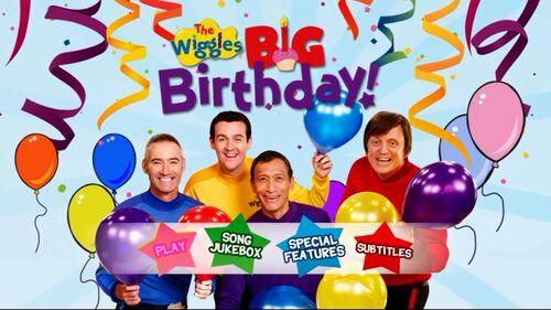 The Wiggles' Big Birthday! (DVD Menu)