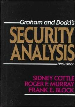 Security Analysis Book