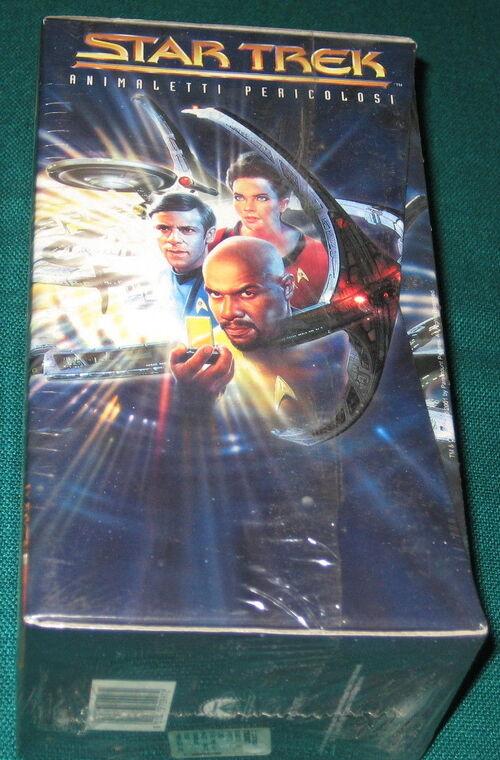 Image - Star Trek Animaletti Pericolosi Italian VHS cover.jpg - Memory ...