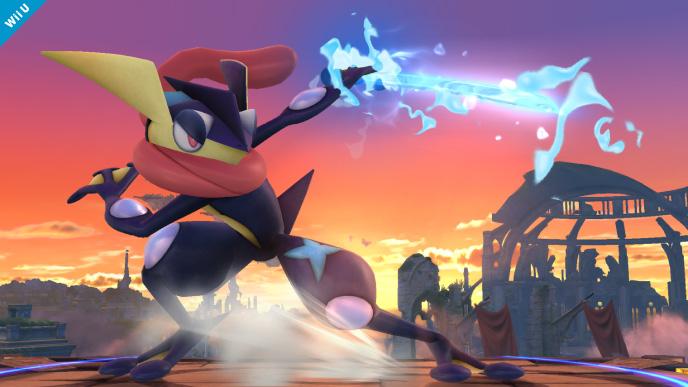 greninja sanpei s greninja super smash bros series super smash bros    Greninja Super Smash Bros