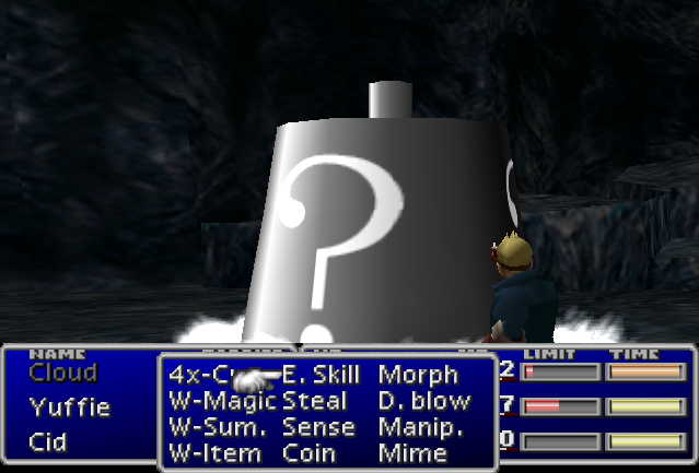 final fantasy 7 dragon force enemy skill list