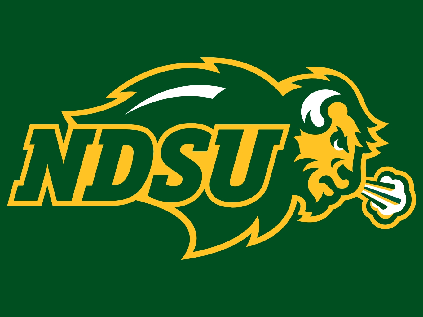 North Dakota Football Logo North Dakota State Logo