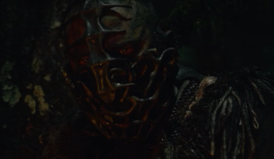 grounder, possibly Lincoln , wearing a mask. Human Animal Mutations