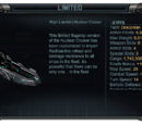 High-Lander's Nuclear Cruiser