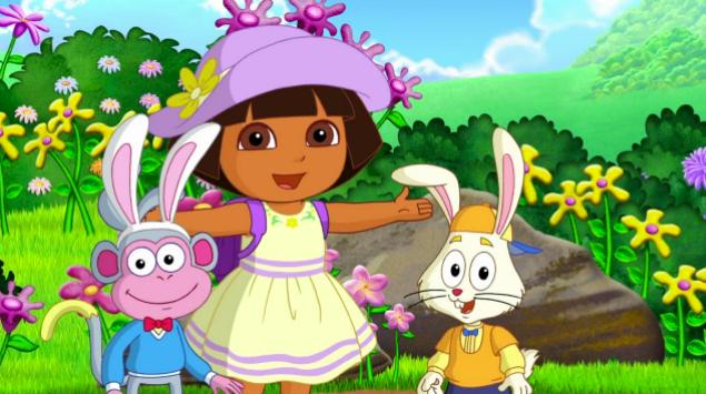 Image - Dora's Easter Adventure 04.png - Dora the Explorer ...