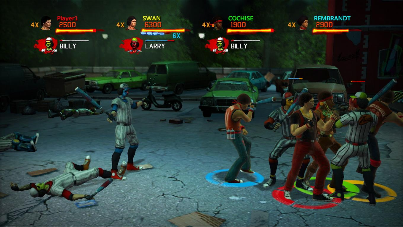 The Warriors Street Brawl Xbox 360 Classic Game Room