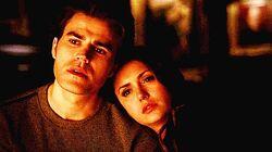 Stefan and Elena in 5x18