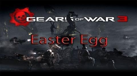 "Easter egg - Gears of war 3 ""El Rap de Cole"""