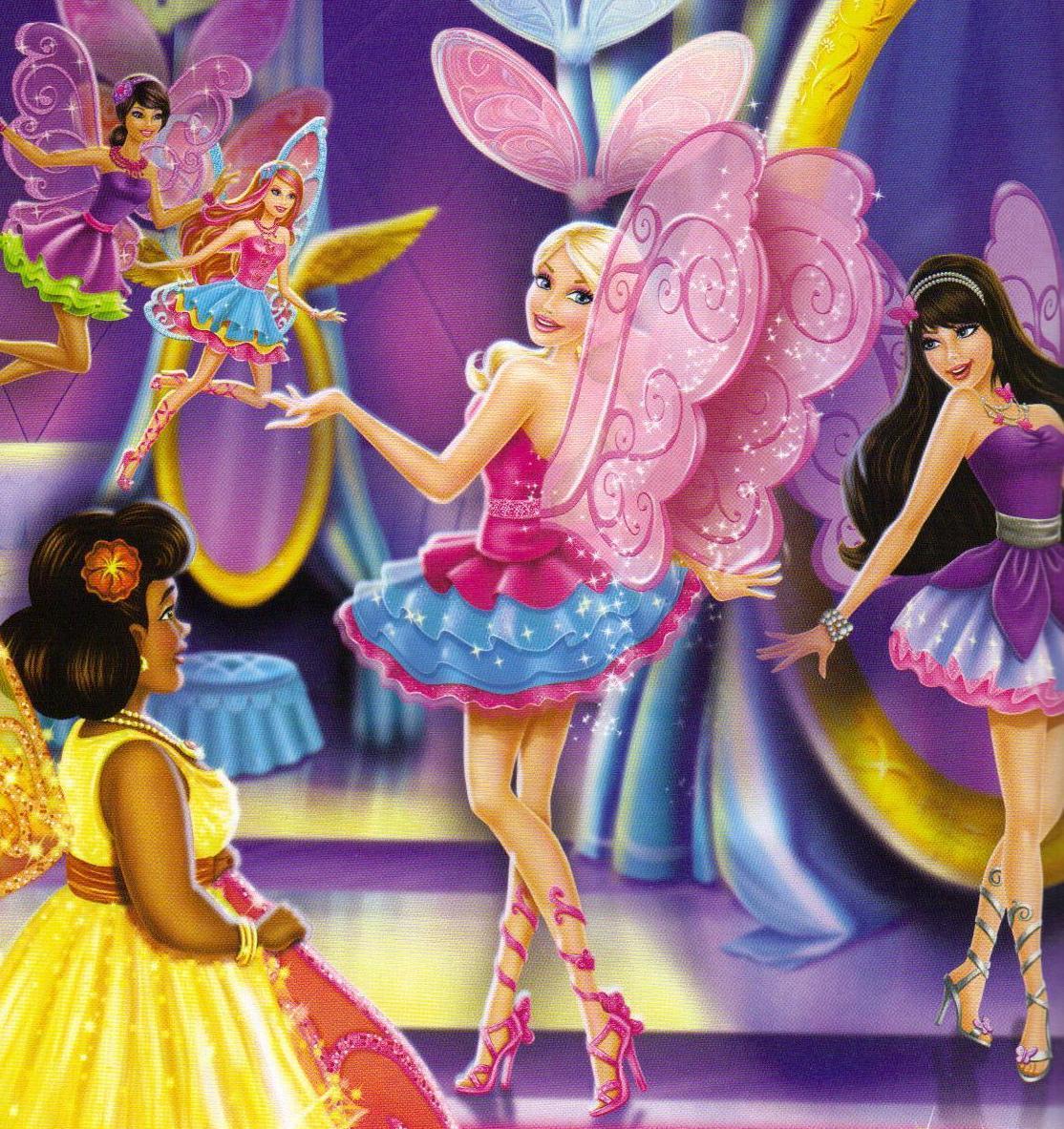 Barbie in the fairy secret