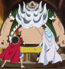 Luffy and Cavendish vs. Chinjao