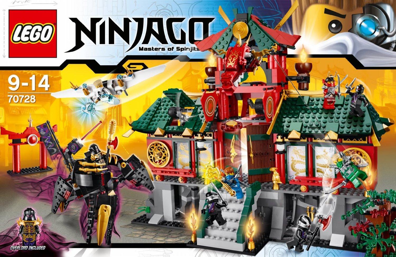 Lego Ninjago 2014 Sets 70728 Battle for Ninja...