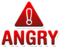 Icon angry
