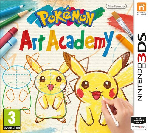 Pokemon Art Academy Art Pokémon Art Academy The