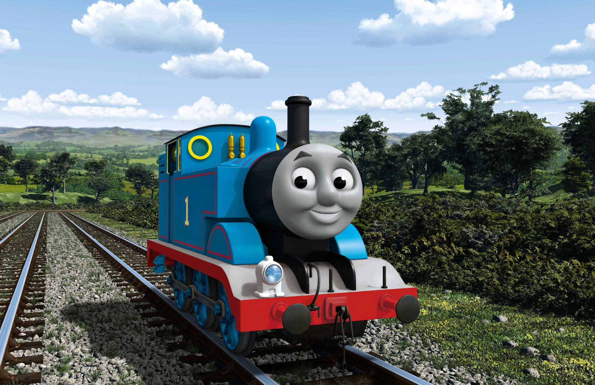Thomas thomas the tank engine and friends the cgi - Background thomas and friends ...