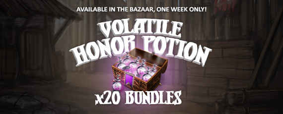 Scroller volatile honor potion bundle