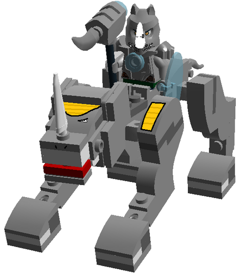 lego chima legend beast rhino - photo #2
