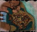 Plan obozu na bagnie