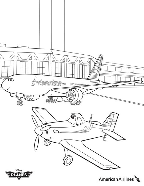 disney planes coloring pages - dusty free colouring pages