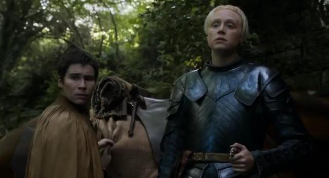podrick payne, brienne starh, juego de tronos