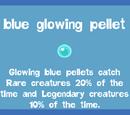 Blue Glowing Pellet