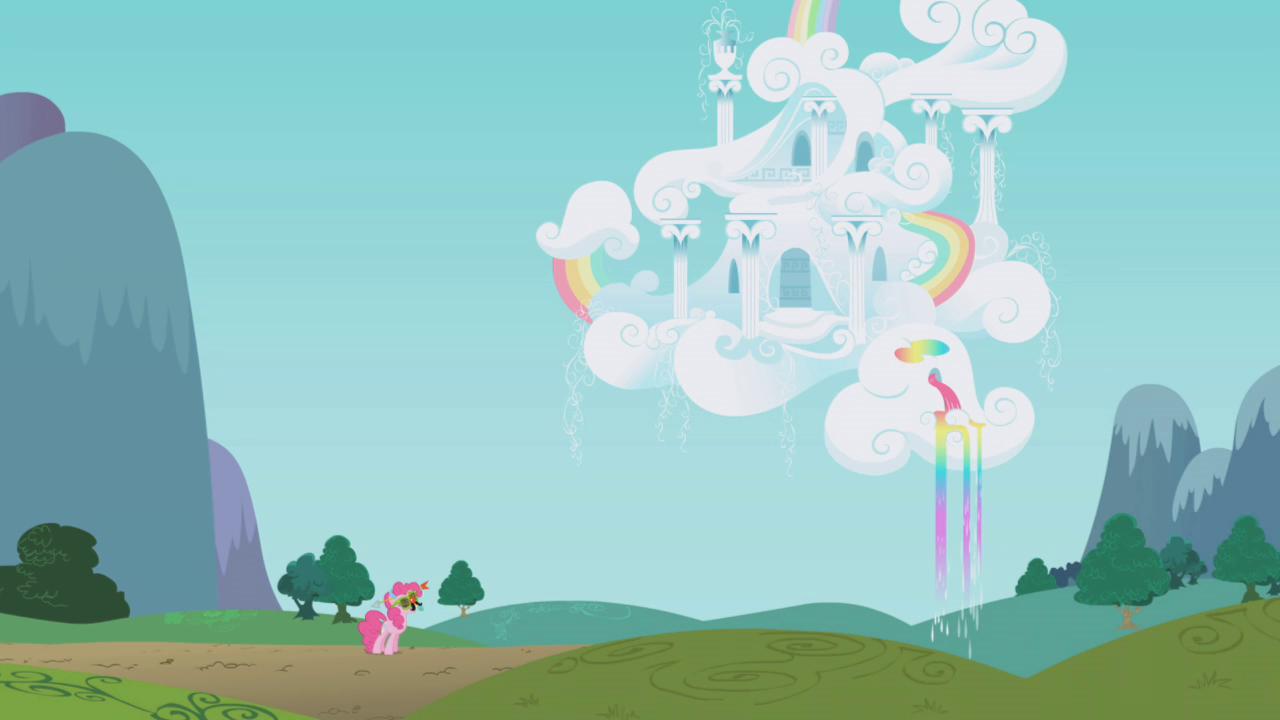 Rainbow Dash S House My Little Pony Friendship Is Magic