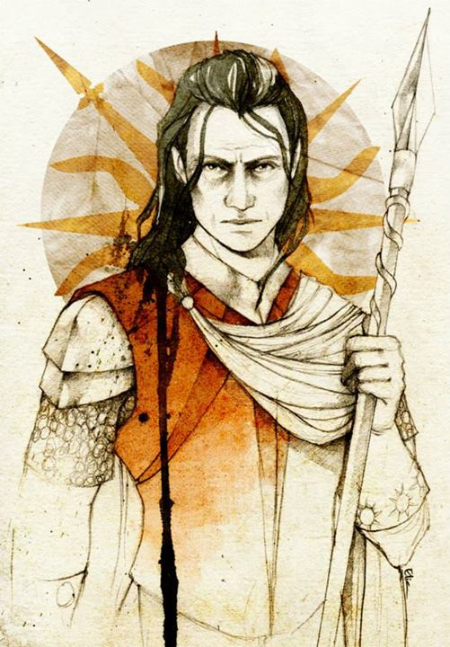 Sword Times el libro (otra vez) - Página 7 Oberyn_Martell_by_Elia_Mervi%C2%A9