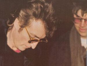 The last ever photo of John Lennon 8th December 1980