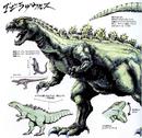 Concept Art - Godzilla vs. King Ghidorah - Godzillasaurus 1.png