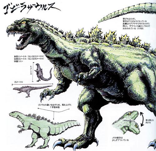 Anguirus Concept Art Godzillasaurus/...