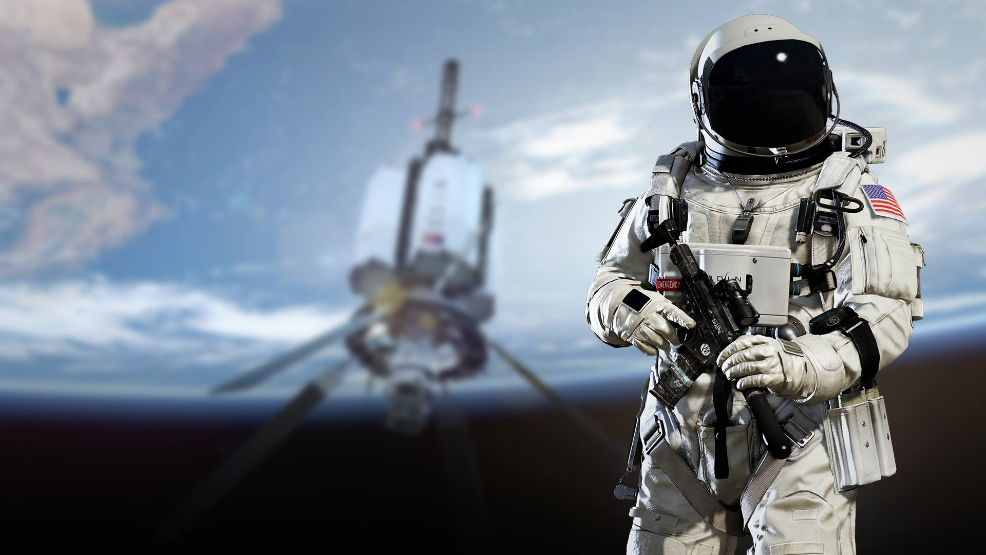 Why do astronauts take weapons into space