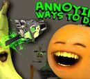 Annoying Orange: Annoying Ways to Die