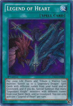 Legend of Heart - Yu-Gi-Oh! - It's time to Duel!