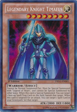 Legendary Knight Timaeus Yugioh Timaeus Knight