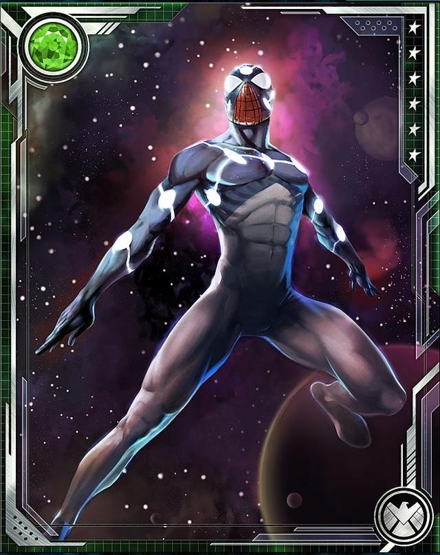 Cosmic spider man - photo#3