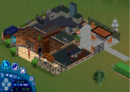 Goth home The Sims 1 first floor.png