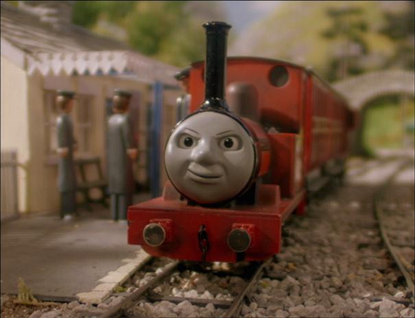 TV版第4シーズンのスカーロイ鉄道の乗客