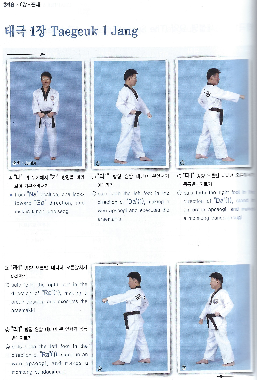 The textbook of taekwondo poomsae: with dvd: kukkiwon.
