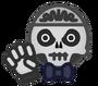 LM - Skeleton boy