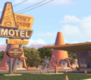 Radiator Springs locations